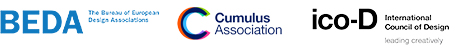 BEDA, Cumulus and ico-D logos